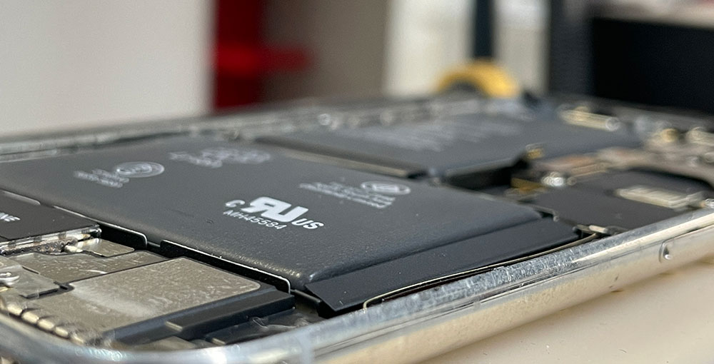 Riparazione batteria iPhone